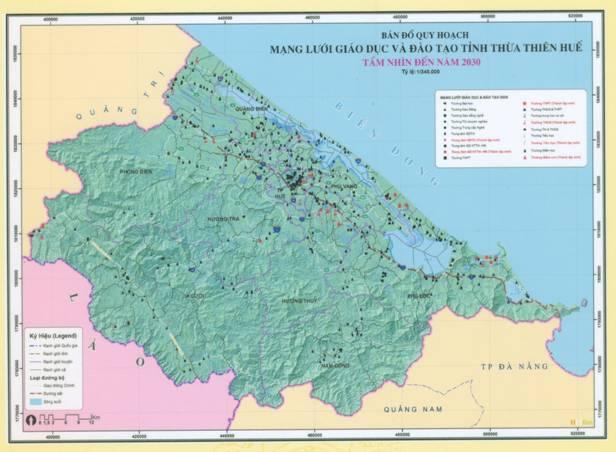 Quy hoạch phát triển giáo dục và đào tạo tỉnh Thừa Thiên Huế giai đoạn 2015-2020 và tầm nhìn đến 2030
