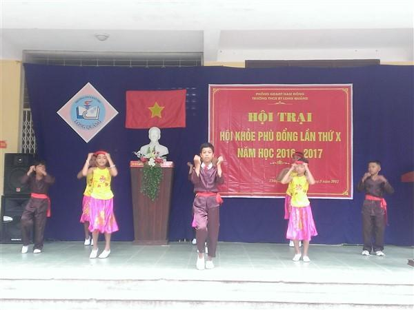 Trường THCS Bán trú Long Quảng: Hội trại Hội khỏe Phù Đổng lần thứ X