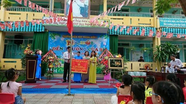 Trường mầm non Phong Hiền I hân hoan tổ chức