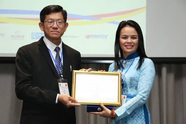 Trường Tiểu học số 1 Phú Mậu:  Đại diện trường học Việt Nam tham dự hội nghị khu vực ASEAN lần thứ 3 về an toàn học đường, ngày 03 -04 tháng 4 năm 2019 tại Băngkok, Thái Lan