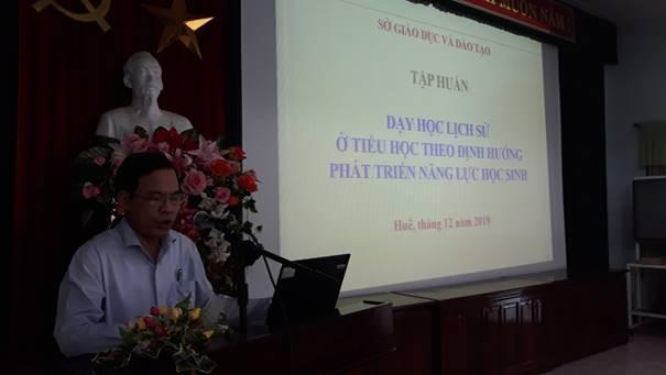 Hội nghị Tập huấn dạy học môn Lịch sử cấp Tiểu học