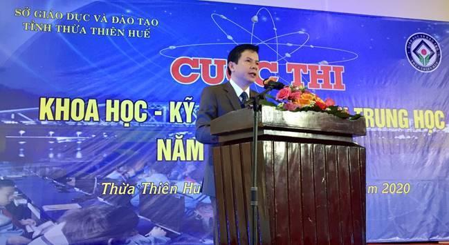 Khai mạc Cuộc thi Khoa học - Kĩ thuật dành cho học sinh Trung học tỉnh Thừa Thiên Huế năm học 2019-2020