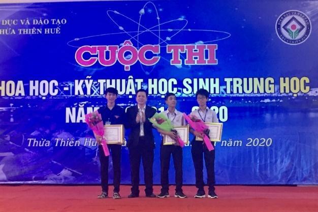 Bế mạc Cuộc thi khoa học kỹ thuật dành cho học sinh trung học tỉnh Thừa Thiên Huế, năm học 2019-2020