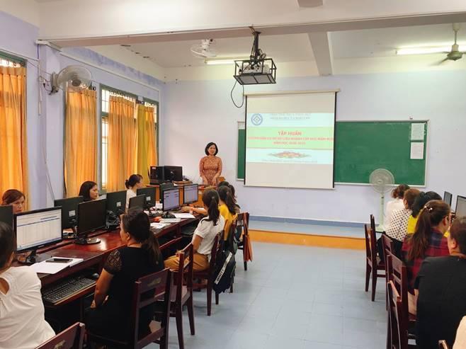 Tập huấn hướng dẫn sử dụng phần mềm cơ sở dữ liệu ngành giáo dục cấp học mầm non