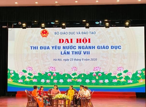 Ngành Giáo dục và Đào tạo Thừa Thiên Huế có 5 cá nhân và 1 tập thể được tôn vinh tại Đại hội thi đua yêu nước toàn quốc Ngành GD&ĐT giai đoạn 2015-2020