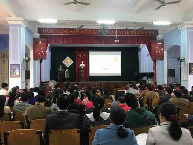 Hội nghị tập huấn nhằm tăng cường hiệu quả công tác tuyên truyền, giáo dục học sinh