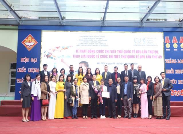 Lễ phát động cuộc thi Viết thư quốc tế UPU lần thứ 50 (năm 2021) và trao giải Ba quốc tế cuộc thi Viết thư quốc tế UPU lần thứ 49 (năm 2020)