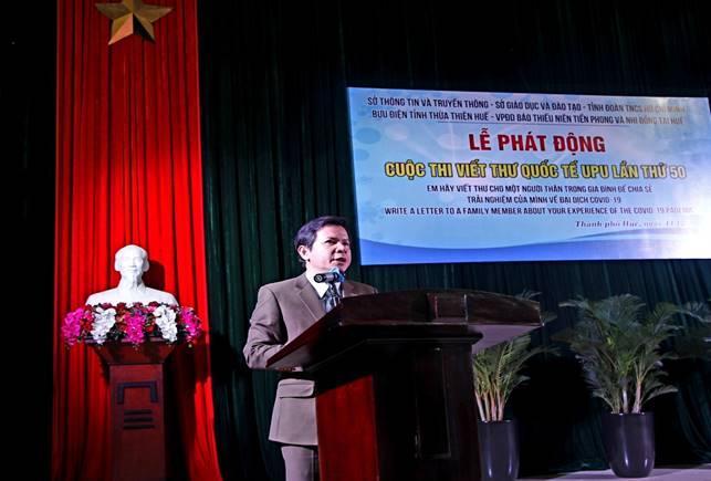 Lễ tổng kết cuộc thi viết thư quốc tế UPU lần thứ 49 (2020), Phát động cuộc thi viết thư quốc tế UPU lần thứ 50 (2021) tại tỉnh Thừa Thiên Huế