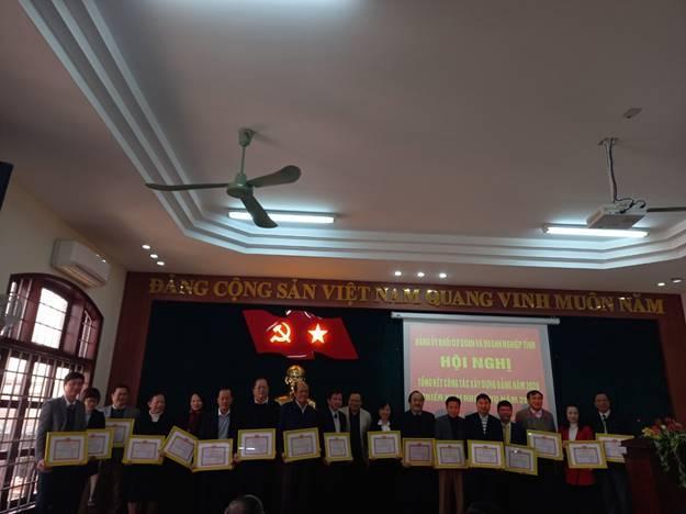 Đảng bộ Sở Giáo dục và Đào tạo hoàn thành xuất sắc nhiệm vụ năm 2020