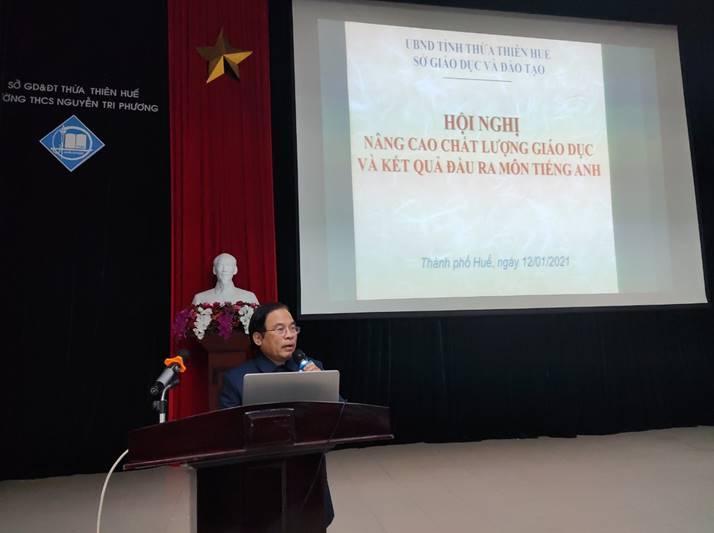 Hội nghị nâng cao chất lượng giáo dục và kết quả đầu ra môn Tiếng Anh