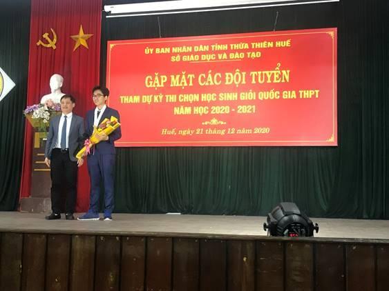 Năm học 2020-2021, Thừa Thiên Huế có 61 học sinh đoạt giải Quốc gia (tăng 9 giải so với năm học 2019-2020)