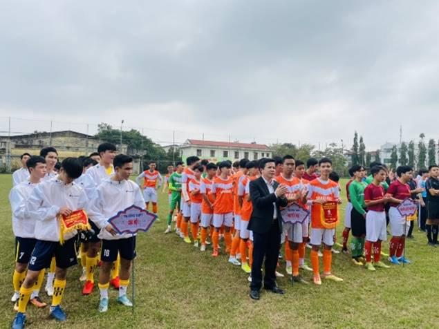 Khởi tranh Giải Bóng đá truyền thống học sinh THPT Thừa Thiên Huế năm 2021 tại Bảng thi đấu thành phố Huế