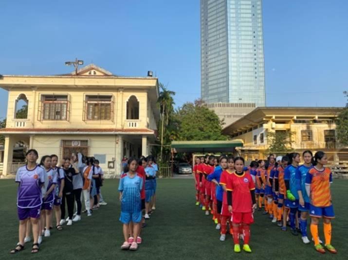Bế mạc và trao giải bóng đá nữ học sinh THPT trong khuôn khổ Hội khỏe phù đổng tỉnh Thừa Thiên Huế năm 2021