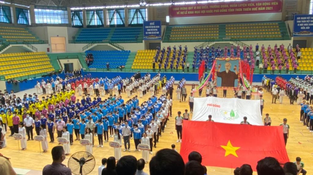 Thừa Thiên Huế Khai mạc Hội khoẻ Phù Đổng - Ngày hội thể thao dành cho học sinh