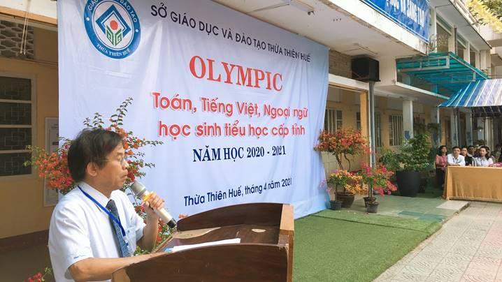 Giao lưu Olympic Toán, Tiếng Việt, Ngoại ngữ học sinh tiểu học năm học 2020-2021