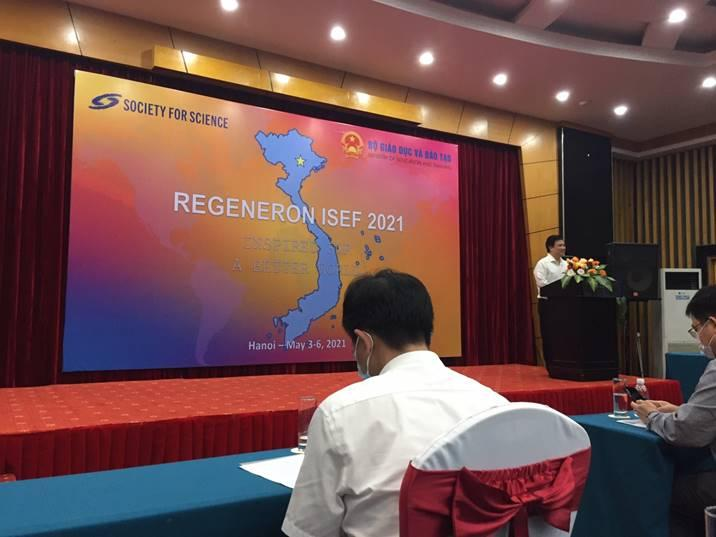 Khai mạc Hội thi Khoa học KỸ thuật Quốc tế 2021 (ISEF – 2021) tại Việt Nam