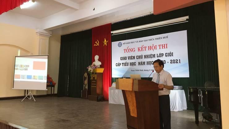 Tổng kết Hội thi và giao lưu Giáo viên chủ nhiệm giỏi cấp tỉnh năm học 2020 - 2021