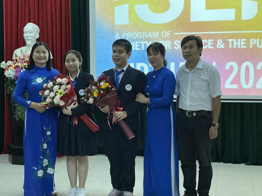 Trực tuyến Lễ trao giải Cuộc thi Khoa học Kỹ thuật Quốc tế tại điểm cầu Thừa Thiên Huế