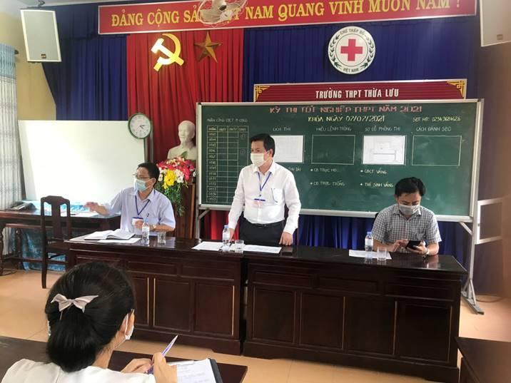 Thừa Thiên Huế tổ chức thi tốt nghiệp trung học phổ thông cho 13.345 thí sinh tại 38 điểm thi trên toàn tỉnh