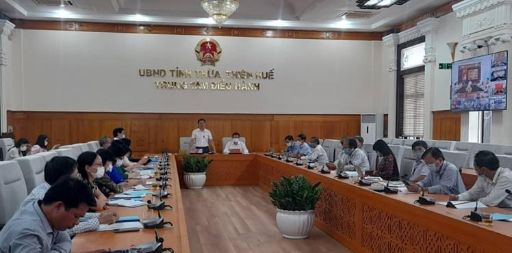 Hội nghị tổng kết năm học 2020-2021 và triển khai nhiệm vụ năm học 2021-2022 Ngành giáo dục Thừa Thiên Huế