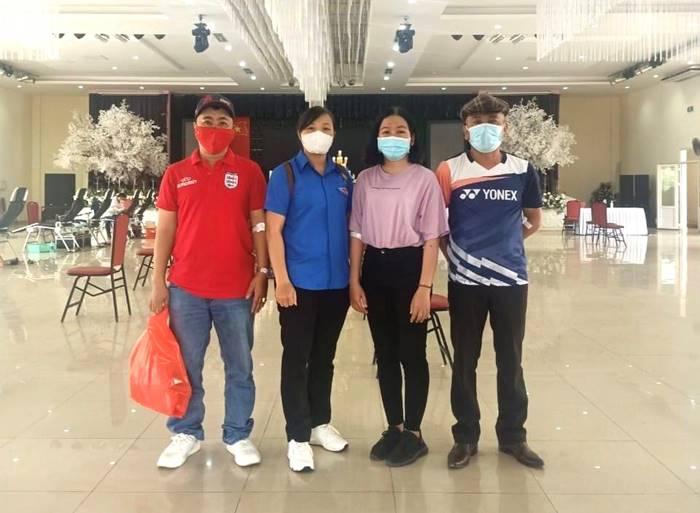 Đoàn viên công đoàn giáo dục tỉnh Thừa Thiên Huế tham gia hiến máu tình nguyện