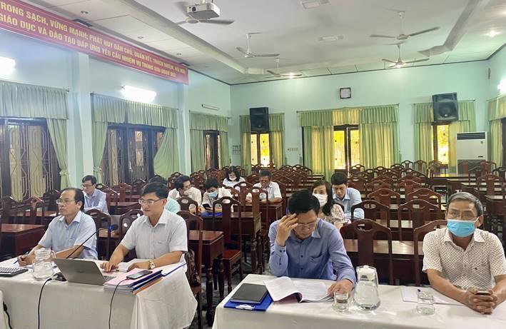 Hội nghị tổng kết năm học 2020-2021 và triển khai nhiệm vụ giáo dục trung học năm học 2021-2022