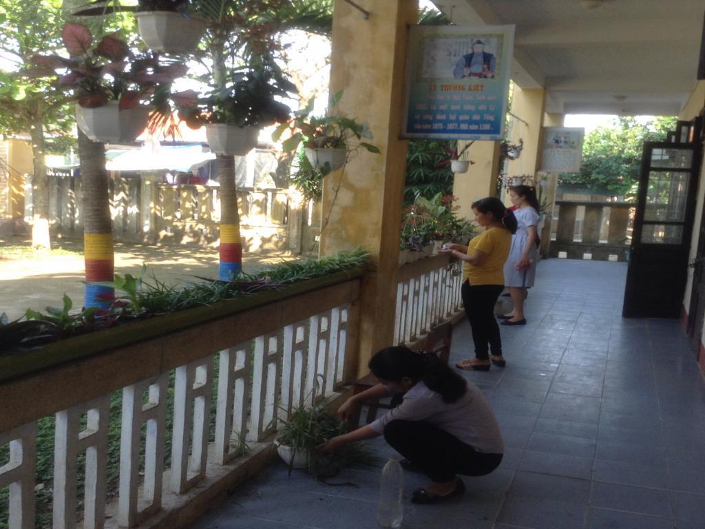 Trường Tiểu học Hương Vân: Mùa dịch Covid-19