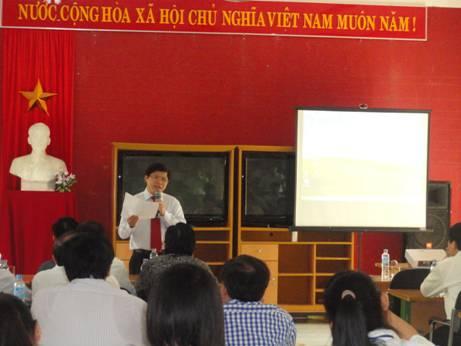 Vòng chung khảo cuộc thi khoa học - kỹ thuật dành cho học sinh trung học năm 2013