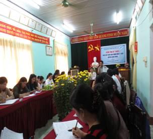 Sở Giáo dục và Đào tạo Thừa Thiên Huế kiểm tra kỹ thuật  phổ cập GDMN 5 tuổi tại huyện Nam Đông