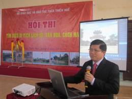Hội thi tìm hiểu di tích lịch sử, văn hóa, cách mạng tỉnh Thừa Thiên Huế.